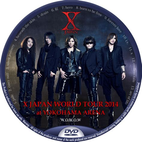 X JAPAN WORLD TOUR 2014 at YOKOHAMA ARENA – レーベル92