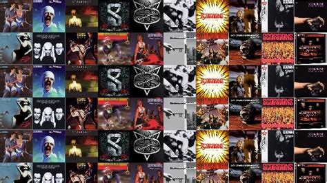 Scorpions Lovedrive Blackout Humanity Sting In Tail