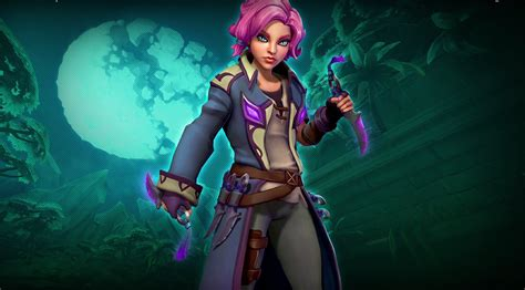 Paladins open beta patch 43 adds new champion Maeve, of Blades