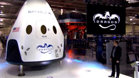 Dragon V2 Unveiled By SpaceX - YouTube