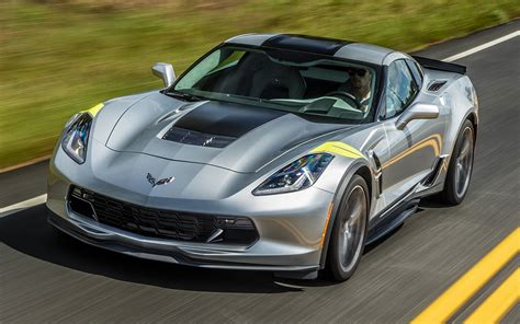 2017 Chevrolet Corvette Grand Sport - Wallpapers and HD